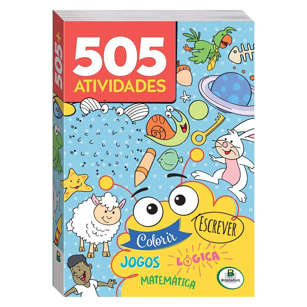 Livro Infantil 505 Atividades Brasileitura