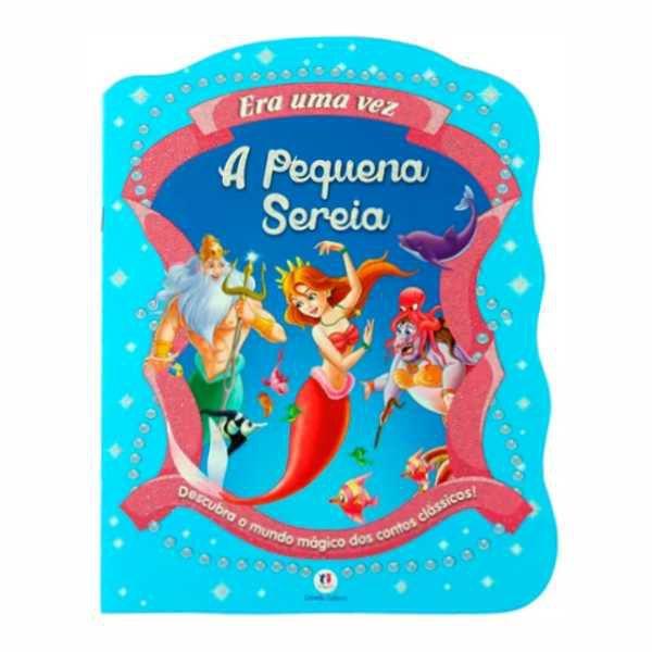 Livro Infantil A Pequena Sereia Magic Kids