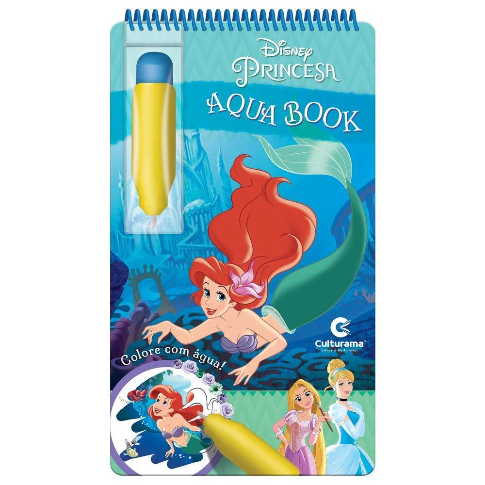 Livro Infantil Aquabook Disney Princesa Culturama