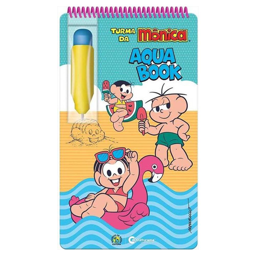 Livro Infantil Aquabook Turma da Mônica Culturama
