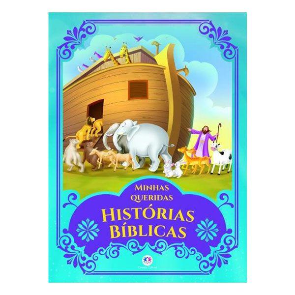 Livro Infantil Minhas Queridas Histórias Bíblicas Ciranda Cultural
