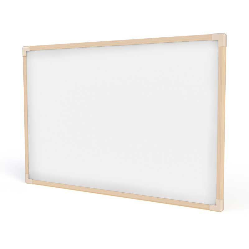 Lousa Escolar Quadro Branco de Madeira 40x30 cm Neo Stalo