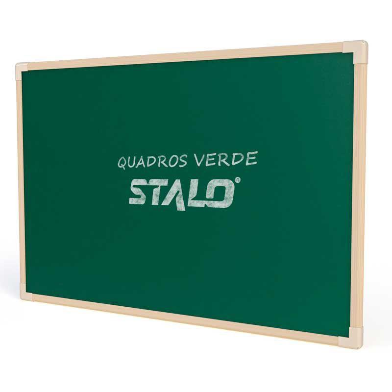 Lousa Escolar Quadro Verde de Madeira 40x30 cm Neo Stalo  - INK House