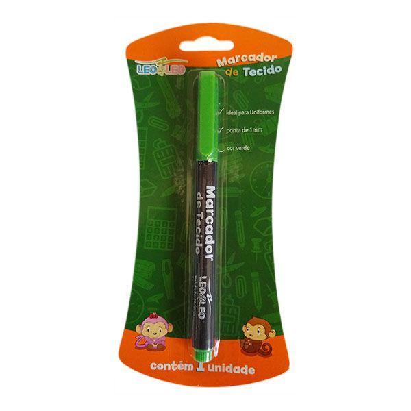 Marcador de Tecido Verde Leo e Leo  - INK House