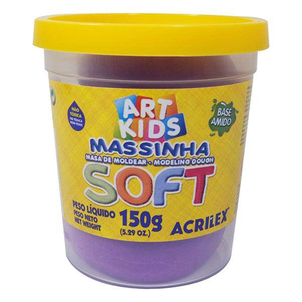 Massa de Modelar Soft 150g Violeta Acrilex