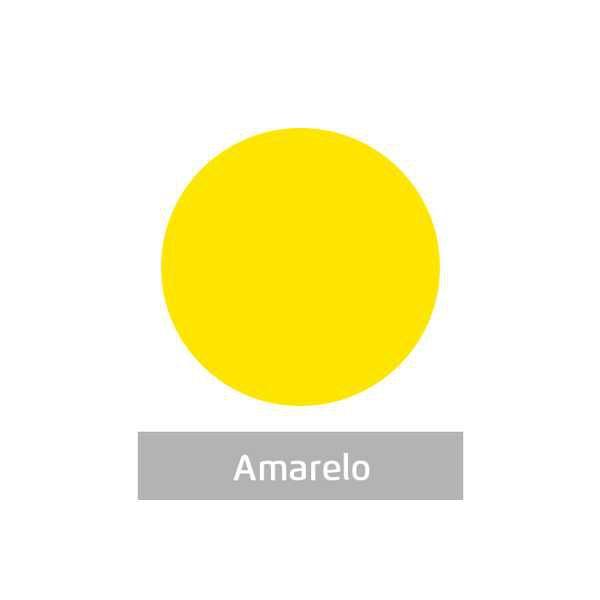 Massa para Artesanato Lisa Amarela 50g Leonora