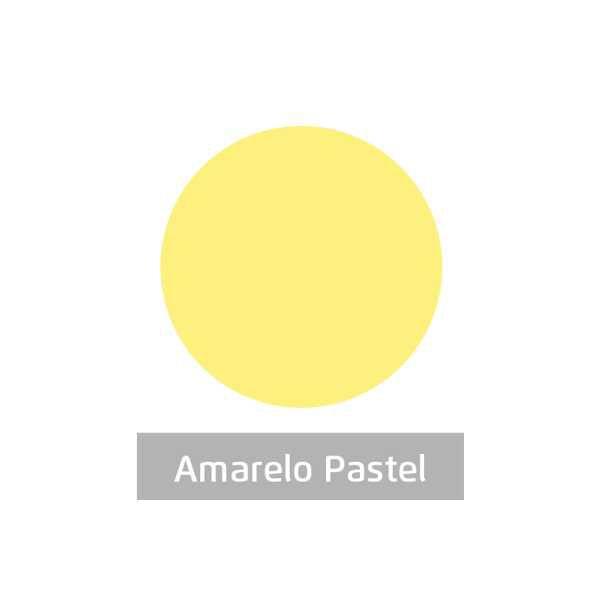 Massa para Artesanato Lisa Amarelo Pastel 50g Leonora
