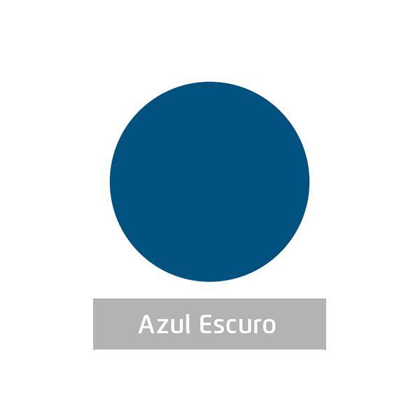 Massa para Artesanato Lisa Azul Escuro 50g Leonora