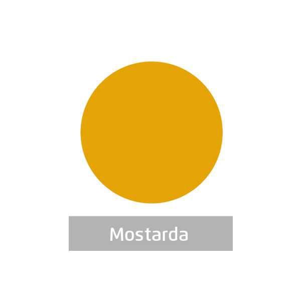 Massa para Artesanato Lisa Mostarda 50g Leonora