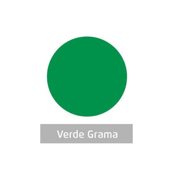 Massa para Artesanato Lisa Verde Grama 250g Leonora