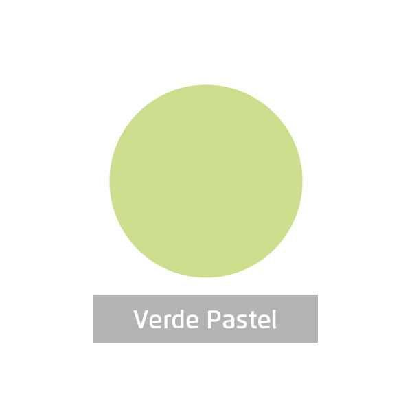 Massa para Artesanato Lisa Verde Pastel 50g Leonora