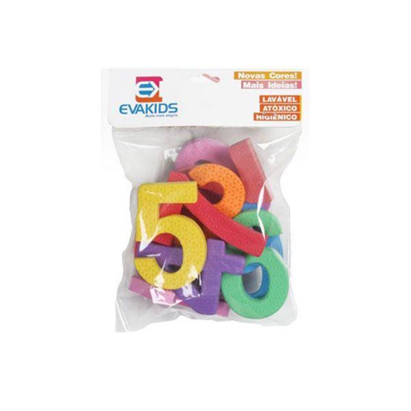 Números de EVA com 10 Peças 8 cm EVA Kids