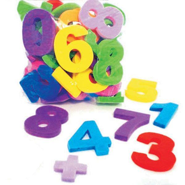 Números de EVA com 25 Peças 5,5 cm Mingone  - INK House