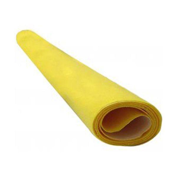 Papel Camurça 40 x 60cm Amarelo Nova Print