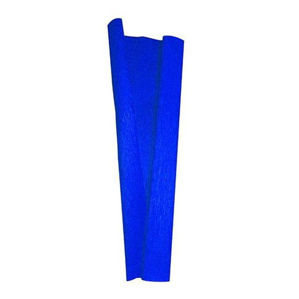 Papel Crepom 48cm x 2,0m Azul Escuro Nova Print