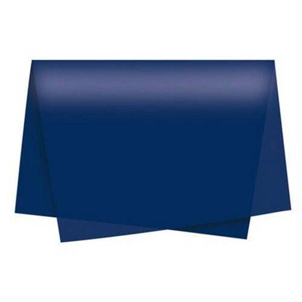Papel de Seda 48 x 60cm Azul Escuro Nova Print  - INK House