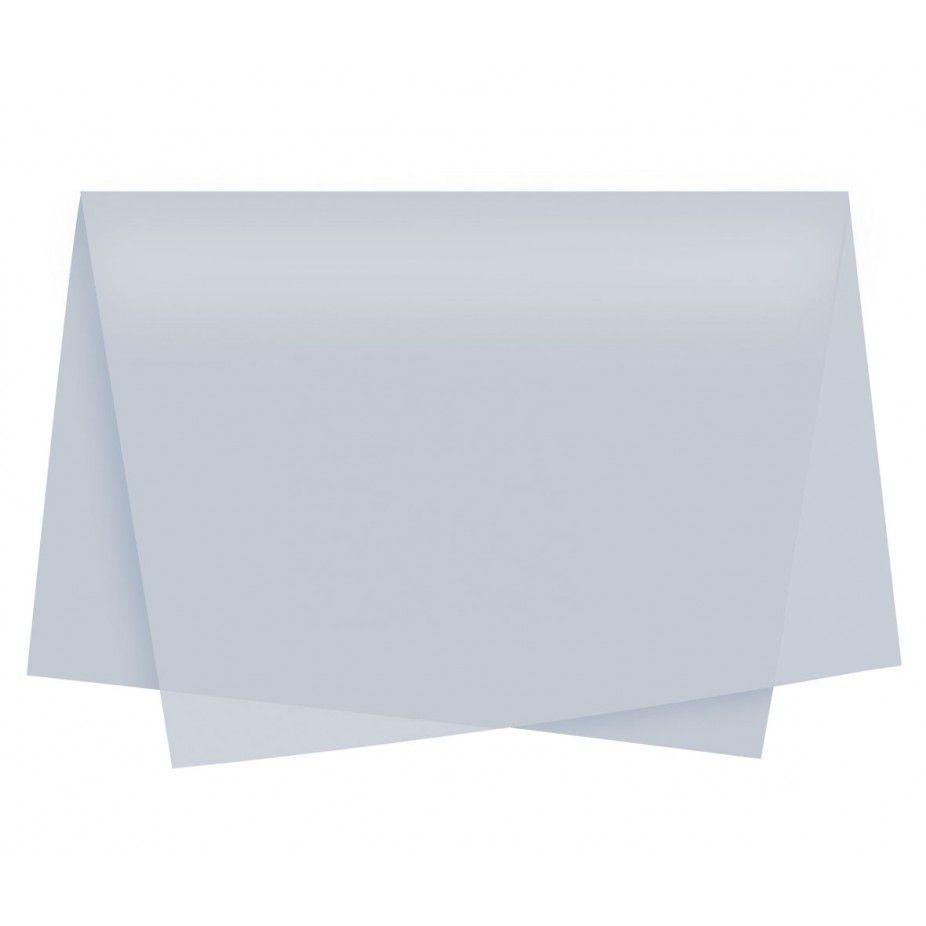 Papel de Seda 48 x 60cm Branco Nova Print