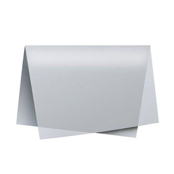 Papel de Seda 48 x 60cm Prata Nova Print