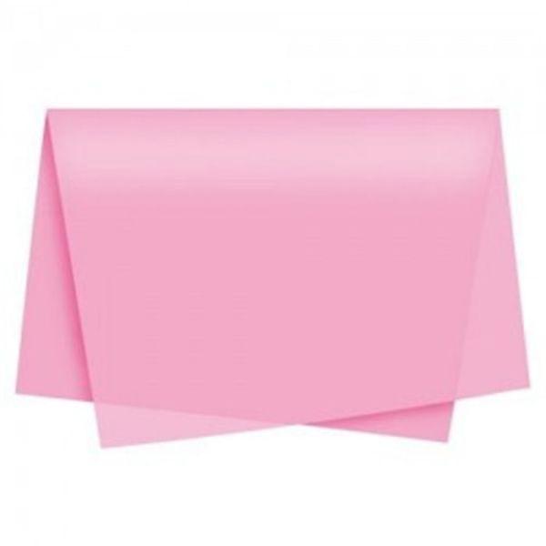 Papel de Seda 48 x 60cm Rosa Claro Nova Print