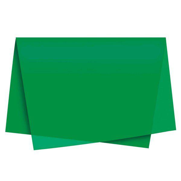 Papel de Seda 48 x 60cm Verde Bandeira Nova Print  - INK House