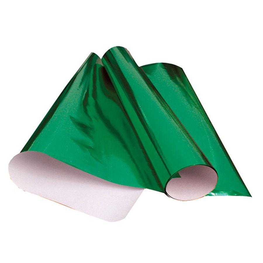Papel Laminado 48 x 60cm Verde Nova Print