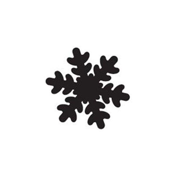 Perfurador de EVA 25mm Floco de Neve Rosa Leoarte  - INK House