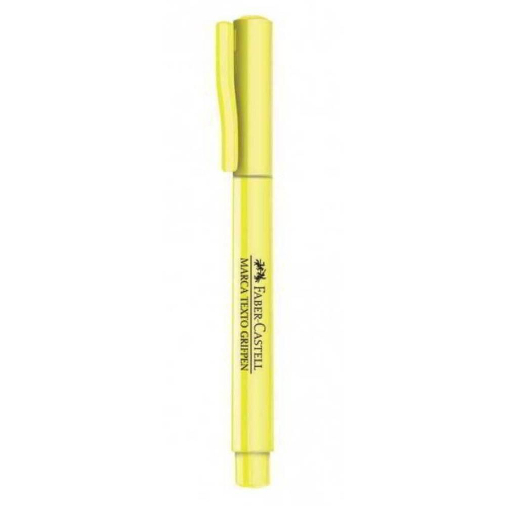 Pincel Marca Texto Amarelo Grifpen Faber Castell  - INK House