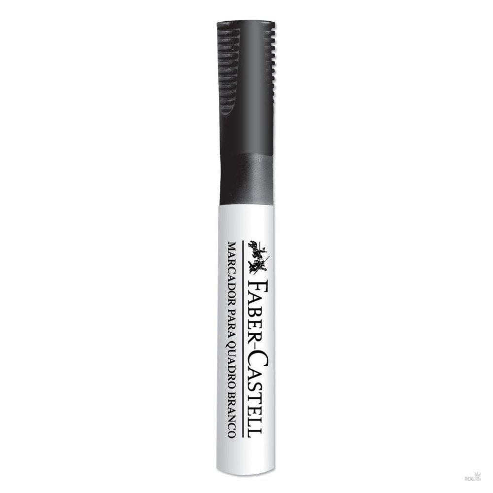 Pincel Marcador para Quadro Branco Preto  Faber Castell  - INK House