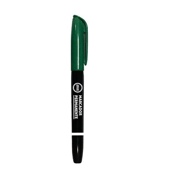 Pincel Marcador Permanente Verde Slim Jocar Office  - INK House