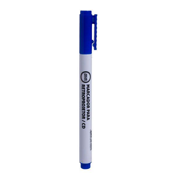 Marcador Retroprojetor CD Azul Jocar Office  - INK House