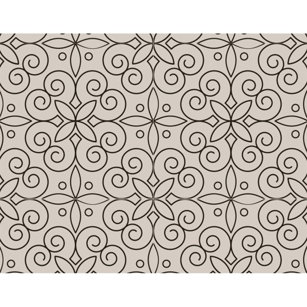 Plástico Adesivo 45cm x 10m Arabesco Vitral Leotack  - INK House