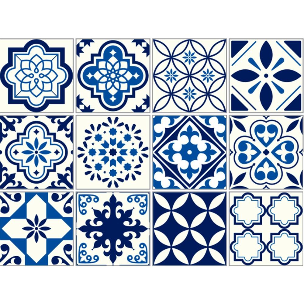 Plástico Adesivo 45cm x 10m Azulejo 1 Leotack