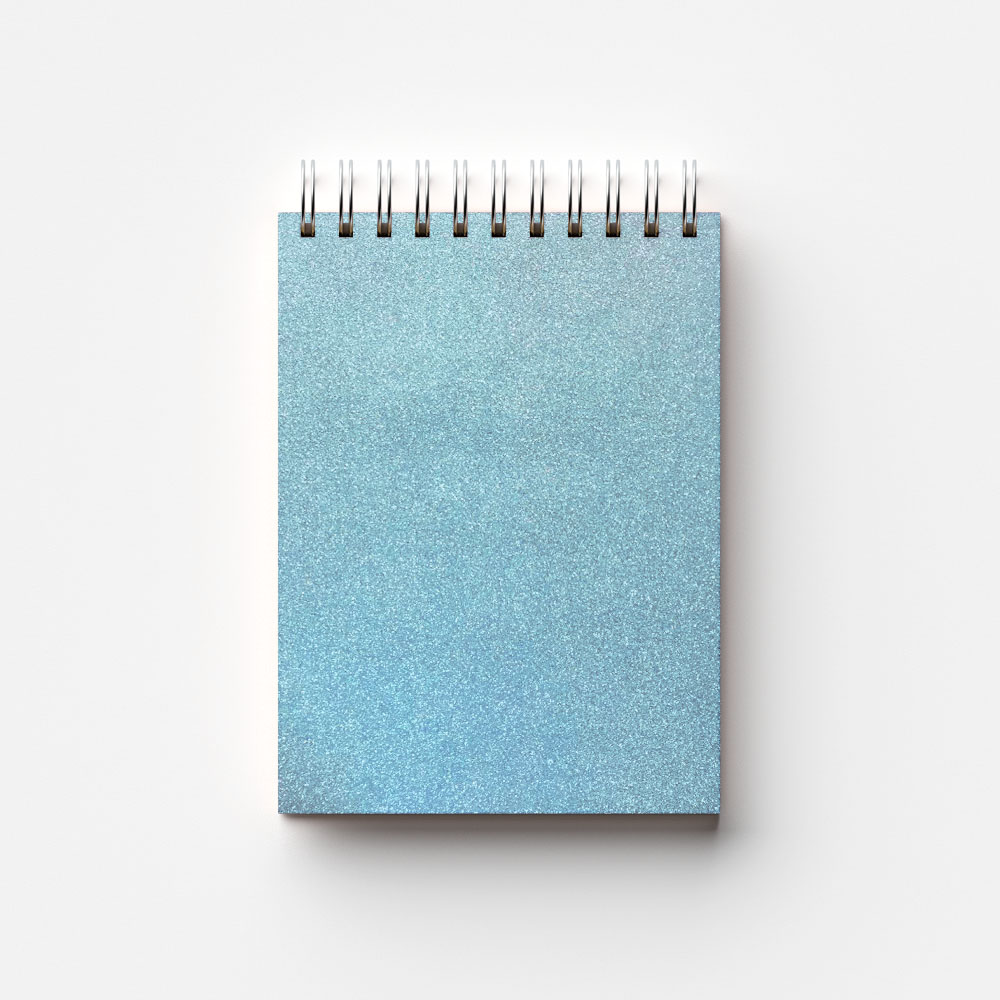 Plástico Adesivo 45cm x 10m Brilho Azul Leotack