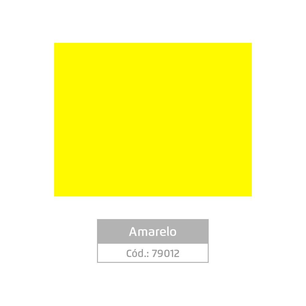 Plástico Adesivo 45cm x 10m Colors Amarelo Leotack
