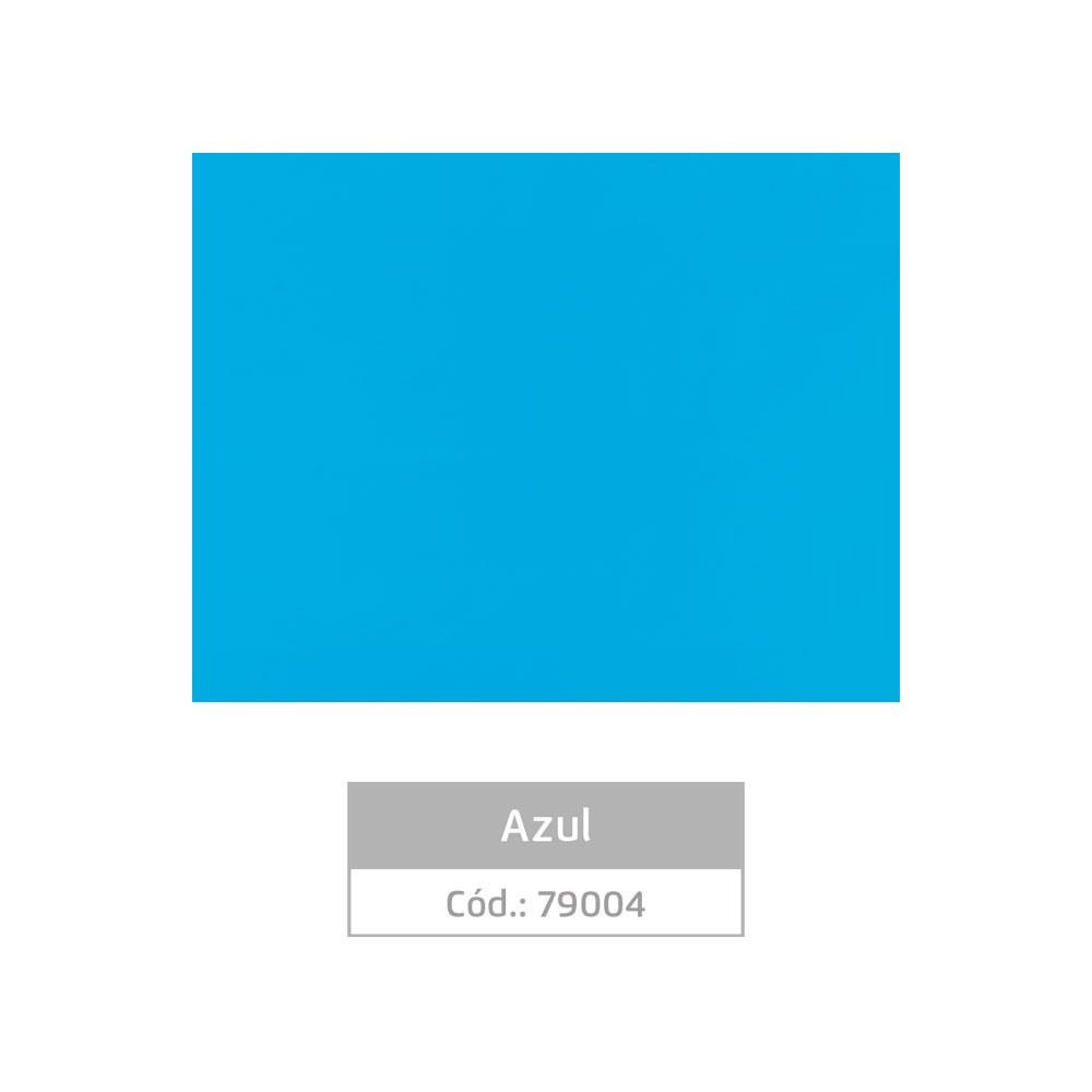 Plástico Adesivo 45cm x 10m Colors Azul Leotack  - INK House