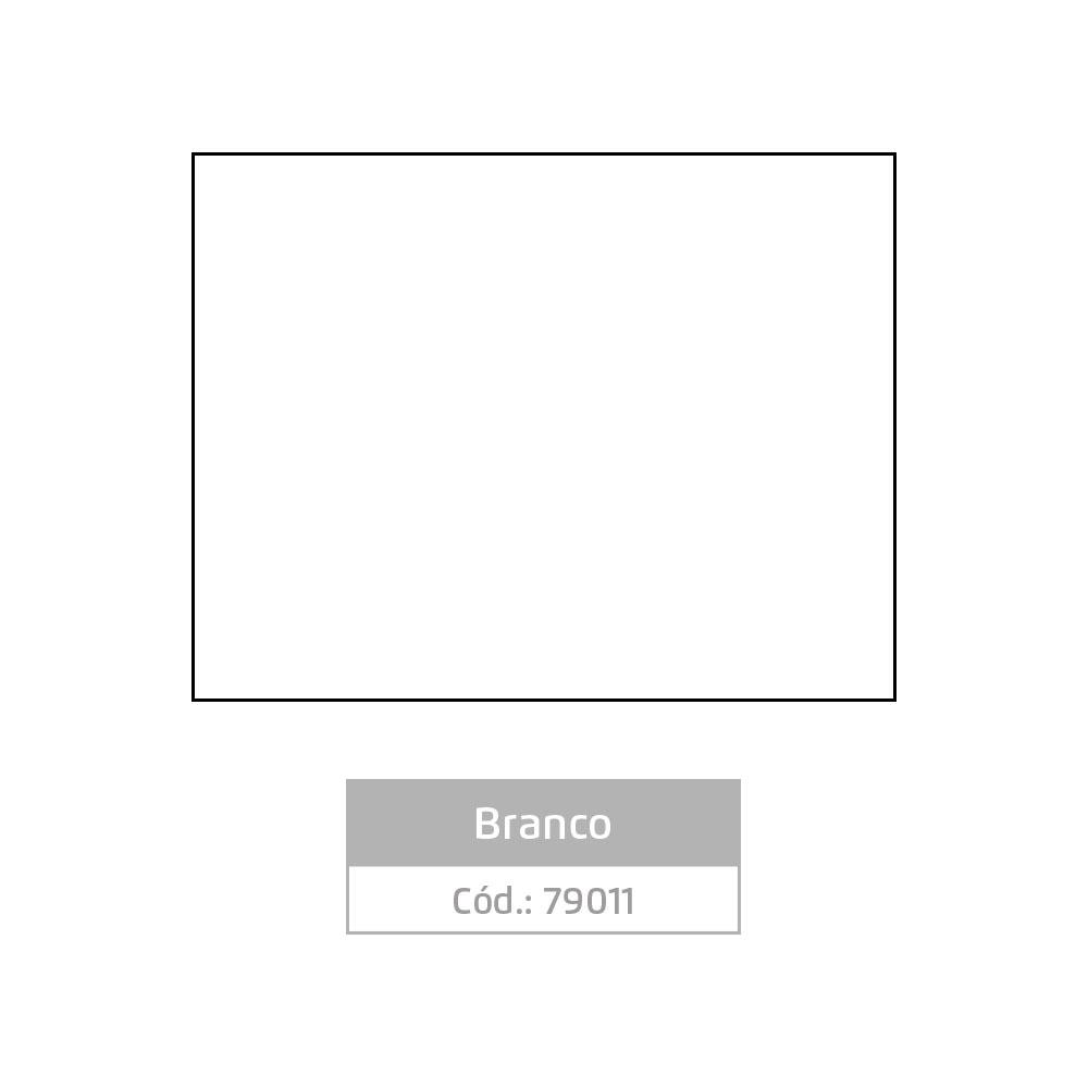 Plástico Adesivo 45cm x 10m Colors Branco Leotack