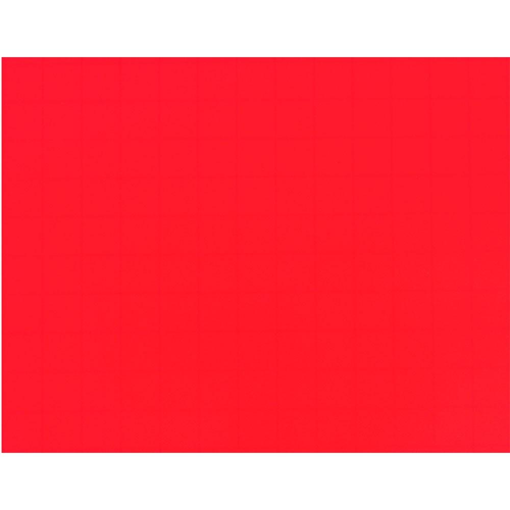 Plástico Adesivo 45cm x 10m Colors Vermelho Leotack