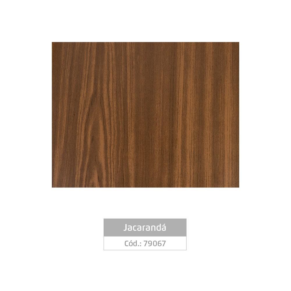 Plástico Adesivo 45cm x 10m Madeira Jacarandá Leotack