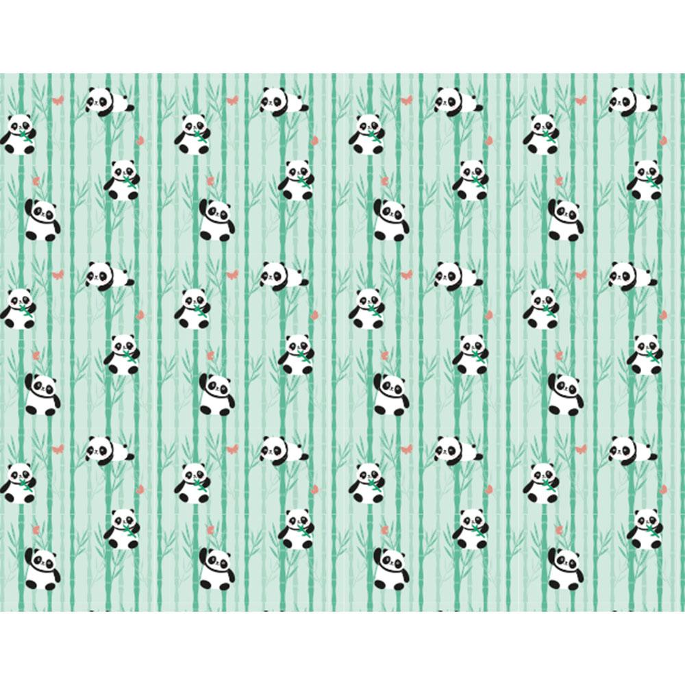 Plástico Adesivo 45cm x 10m Panda Leotack