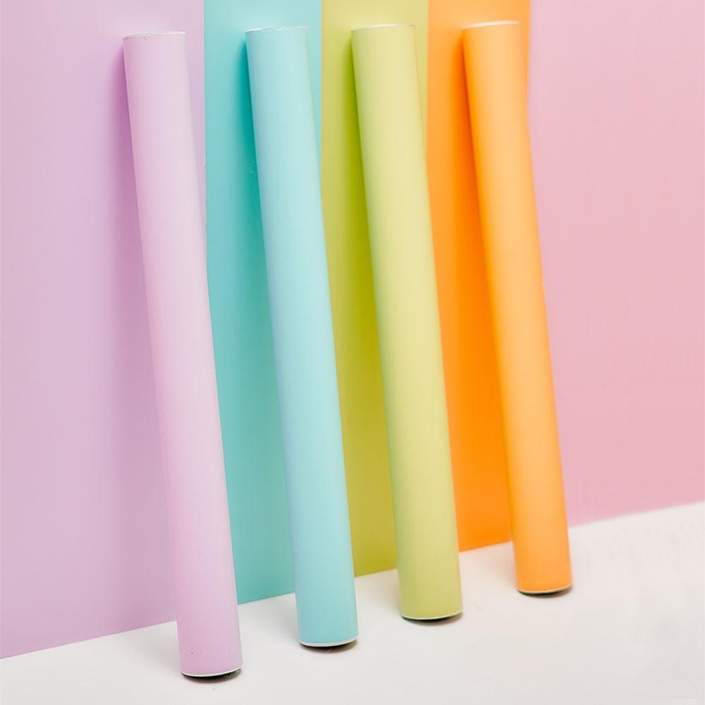 Plástico Adesivo 45cm x 10m Pastel Rosa Leotack