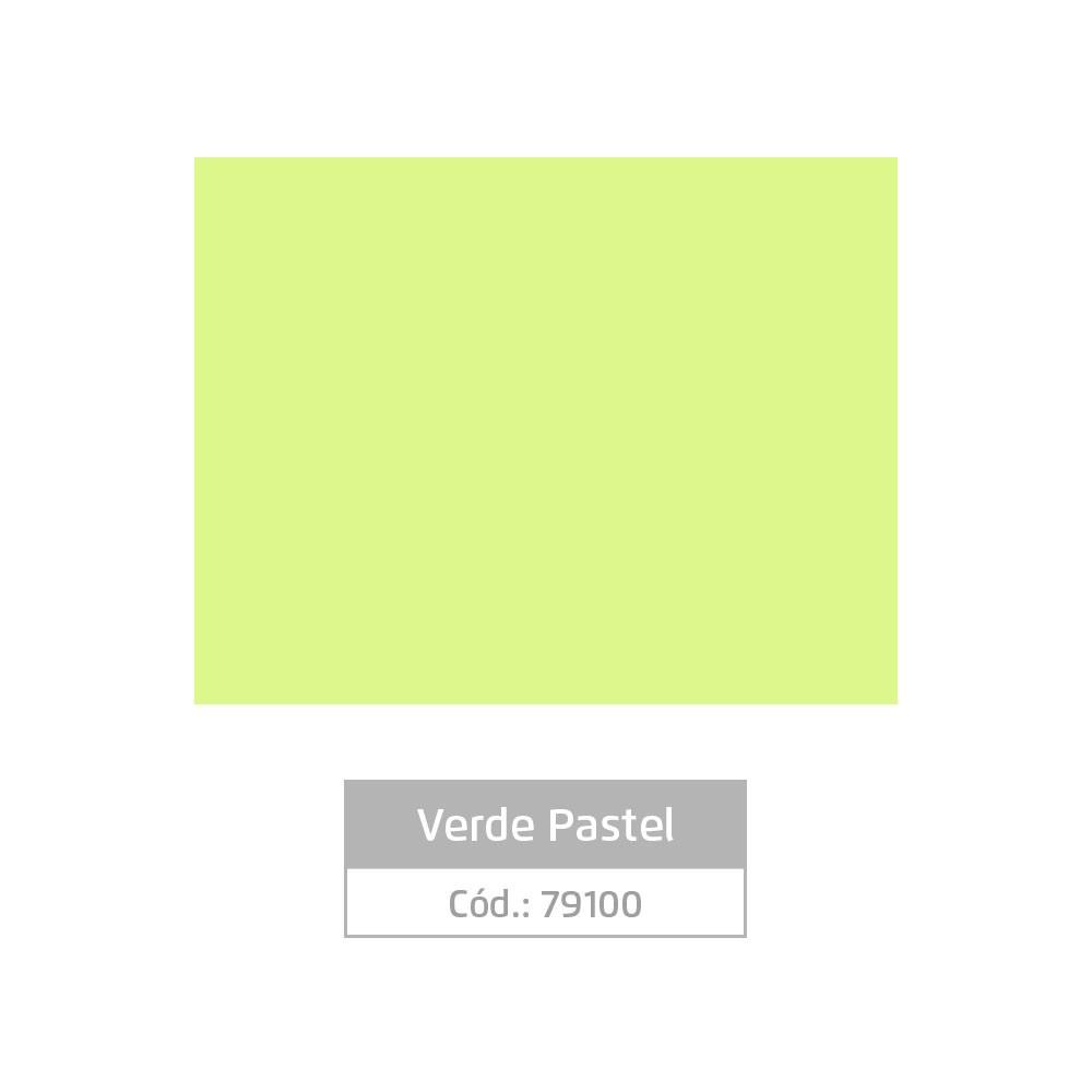Plástico Adesivo 45cm x 10m Pastel Verde Leotack  - INK House