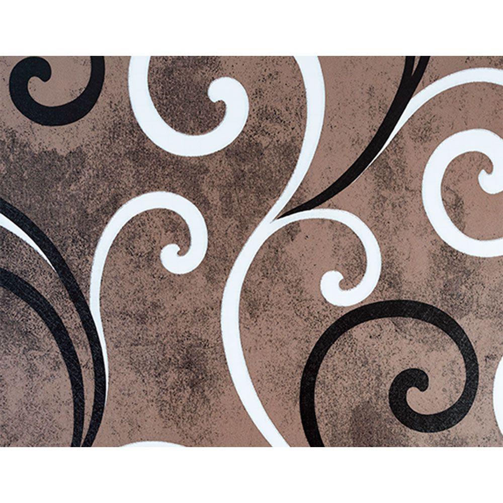 Plástico Adesivo 45cm x 1,5m Arabesco 1 Leotack  - INK House