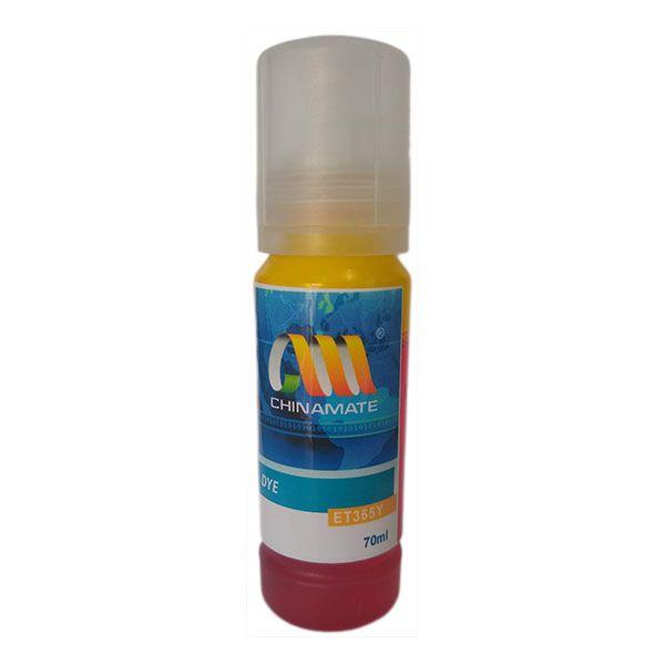 Refil de Tinta Compatível com Epson T544 T544420 T544420-AL L1110 L3110 L3150 L5190 Amarelo