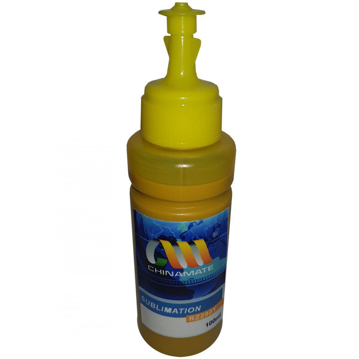 Tinta Sublimática Compatível Epson - Amarela - 100ml  - INK House