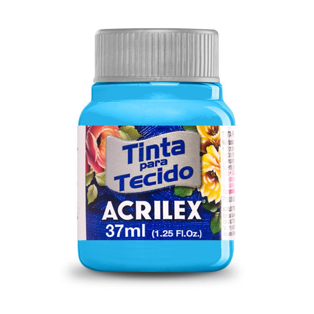 Tinta para Tecido Azul Mar 37ml Acrilex