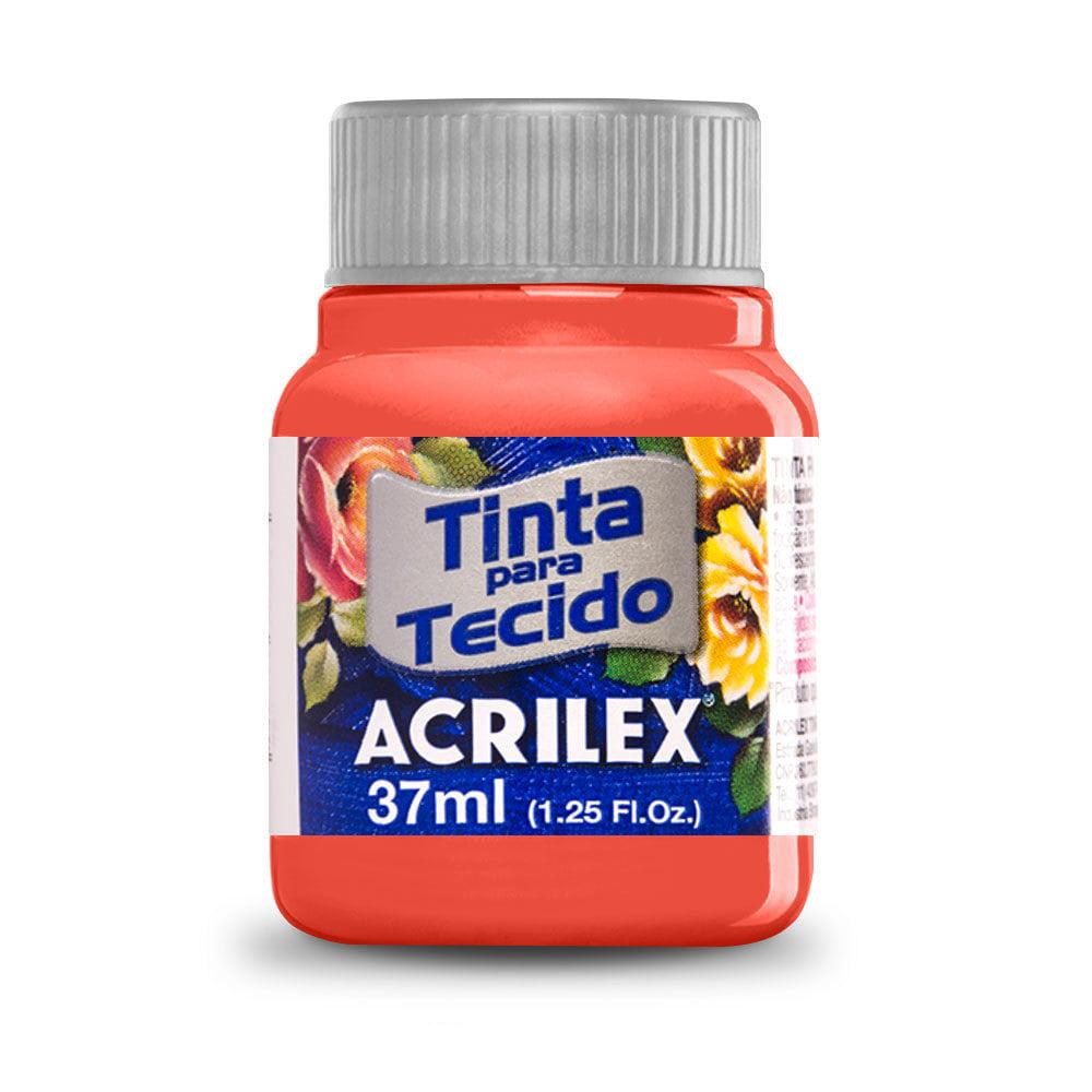 Tinta para Tecido Coral 37ml Acrilex