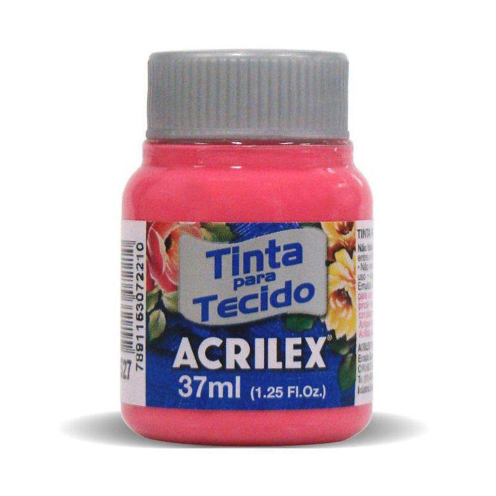 Tinta para Tecido Pink 37ml Acrilex
