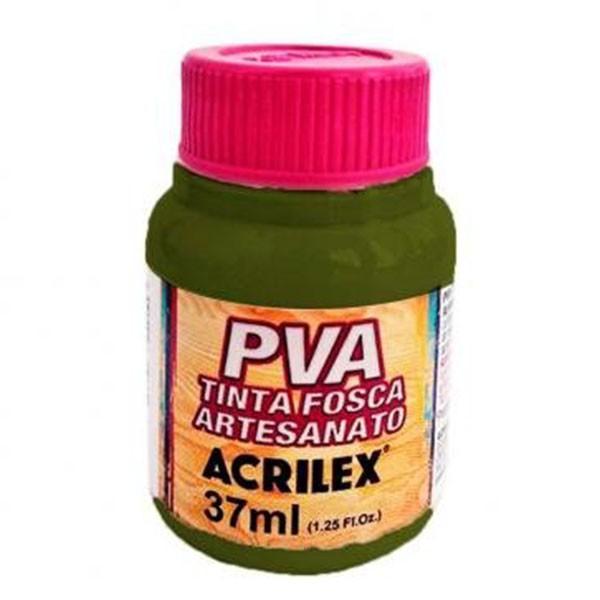 Tinta PVA para Artesanato Verde Oliva 37ml Acrilex  - INK House