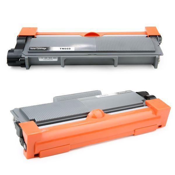 Toner Compatível Brother TN630 TN660 TN2340 TN2370 DCP-L2520 HL-L2360 MFC-L2700 - Preto - 2.6k