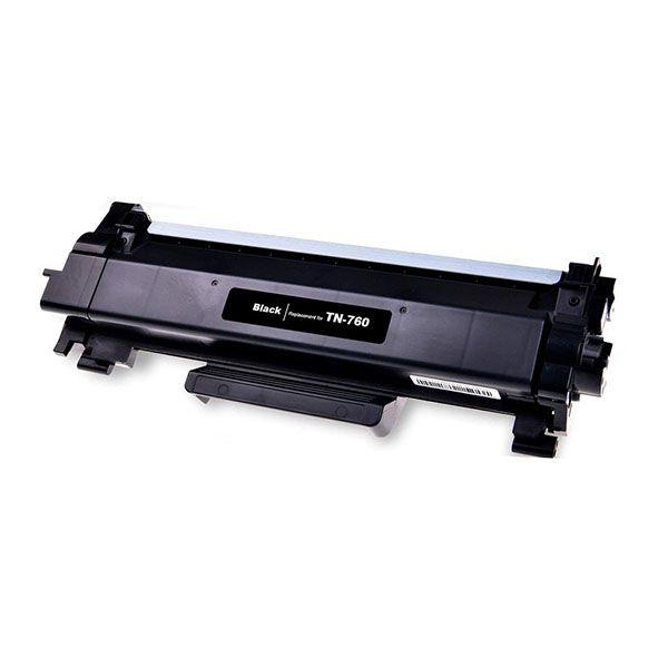 Toner Compatível Brother TN730 TN760 L2250 L2350 L2370 L2390 L2395 L2550 L2710 L2730 L2750 Preto 3k  - INK House
